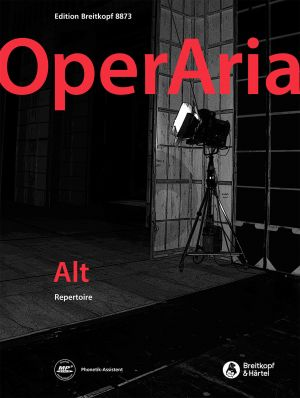 OperAria Alto Repertoire (edited by Peter Anton Ling and Marina Sandel) (germ. / engl.)