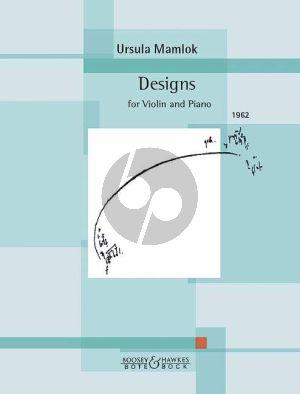 Mamlok Designs Violin and Piano