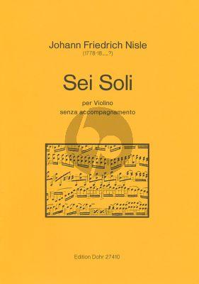 Nisle 6 Soli Violine solo (Christoph Dohr)