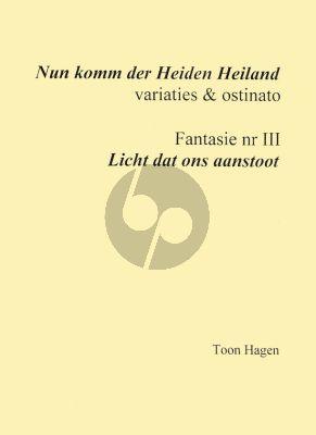 Hagen Nun komm der Heiden Heiland / Licht dat ons aanstoot Orgel solo