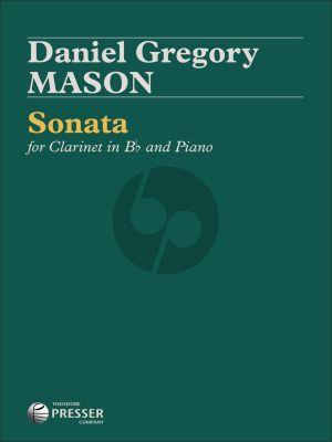 Mason Sonata for Clarinet and Piano