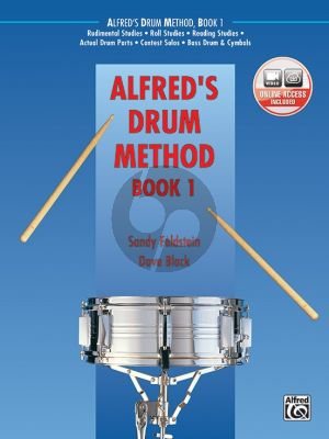 Alfred's Drum Method Vol.1 (The Most Comprehensive Beginning Snare Drum Method Ever!) (Book with Video online)
