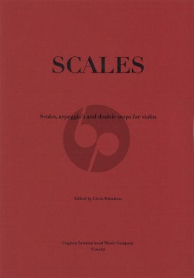 Duindam Scales for Violin (Scales, arpeggio's and double stops for violon)