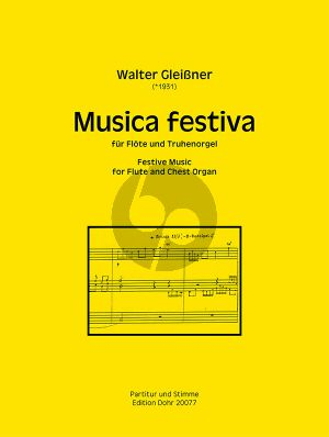Gleissner Musica Festiva (2019) Flote und Truhenorgel