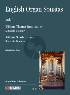 English Organ Sonatas Vol. 1 (edited by Iain Quinn)