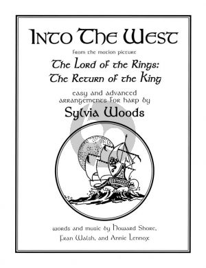 Shore Into the West from The Lord of the Rings for Harp (arr. Sylvia Woods)