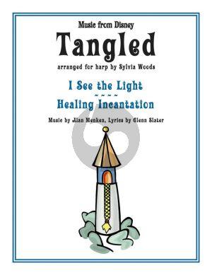 Menken Tangled for Harp (Music From The Disney Motion Picture) (arr. Sylvia Woods)