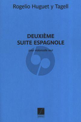 Huguet y Tagell Suite Espagnole No.2 Violoncelle Seule