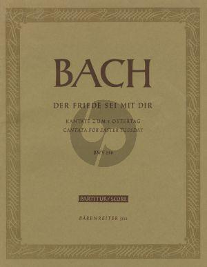 Bach Kantate BWV 158 Der Friede sei mit dir Partitur (Alfred Dürr)