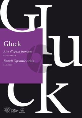 Gluck French Operatic Arias for Baritone (edited by Benoît Dratwicki)