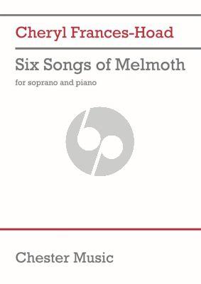 Frances-Hoad Six Songs of Melmoth Soprano and Piano