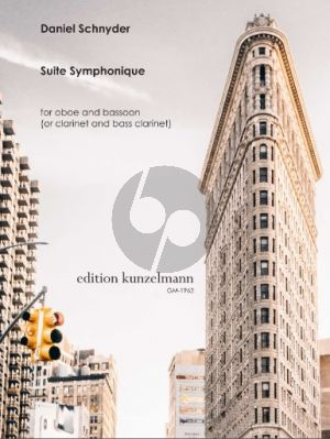 Schnyder Suite Symphonique for Oboe and Bassoon (or Clarinet and Bass Clarinet)
