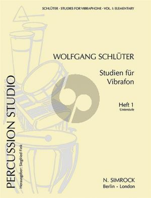Fink Studies for Vibraphone Vol. 1 (elementary grade) (edited Wolfgang Schlueter)