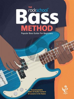 The Rockschool Bass Method (Book with Audio online)