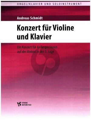 Schmidt Konzert für Violine und Klavier (1. Lage)
