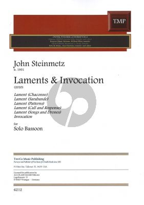Steinmetz Laments and Invocation Bassoon solo