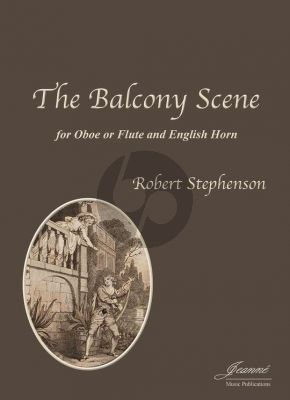 Stephenson The Balcony Scene Flute or Oboe and English Horn (Score/Parts)