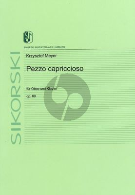 Meyer Pezzo capriccioso Op. 60 Oboe und Klavier