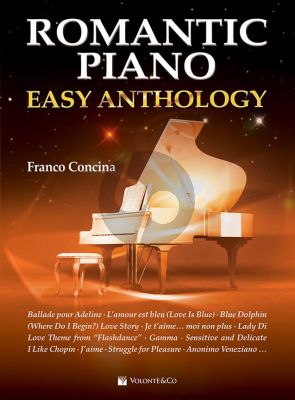Romantic Piano - Easy Anthology (edited by Franco Concina)