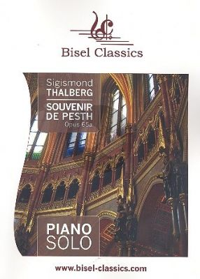 Thalberg Souvenir de Pesth Op. 65a für Klavier (Jenni Pinnock)