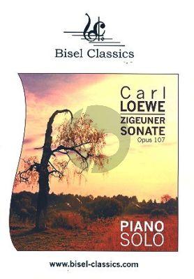 Loewe Zigeunersonate Op. 107 für Klavier (Stephen Begley)
