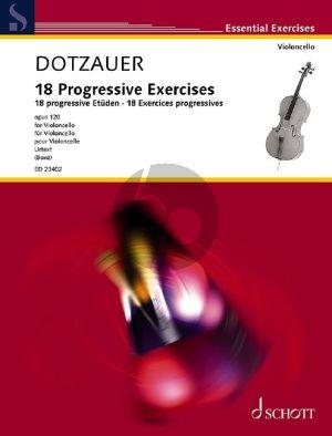 Dotzauer 18 Progressive Exercises Op. 120 Violoncello (Tobias Bonz)