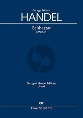 Handel Belshazzar HWV 61 Soli-Choir and Orchestra Vocal Score (engl./germ.) (Felix Loy)