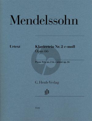 Mendelssohn Piano Trio No. 2 c-minor Op. 66 Violin-Violoncello and Piano (Ernst Herttrich)