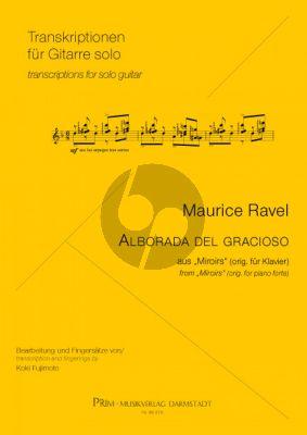"Ravel Alborada del gracioso aus ""Miroirs"" für Gitarre (arr. Koki Fujimoto)"