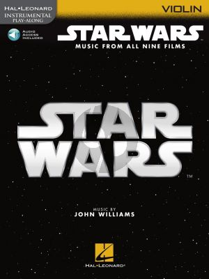 Williams Star Wars – Instrumental Play-Along for Violin (Book with Audio online)