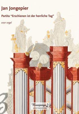 """Jongepier Partita """"Erschienen ist der herrliche Tag"""" Orgel"""