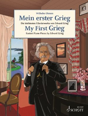 My first Grieg Piano solo (edited by Wilhelm Ohmen)