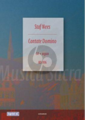 Nees Cantate Domino SA met Orgel