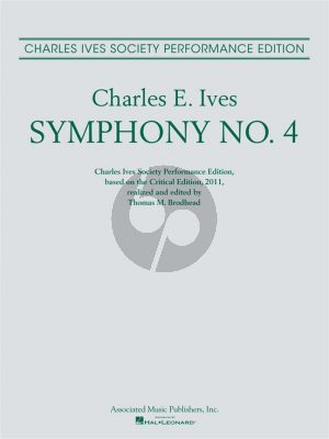 Ives Symphony No.4 Full Score (edited by Thomas M. Brodhead)