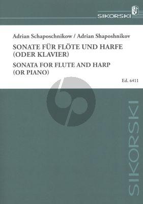 Schaposchnikow Sonate für Flöte und Harfe (oder Klavier)