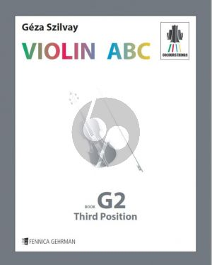 Szilvay Violin ABC Book G2 – Third position (Colourstrings)