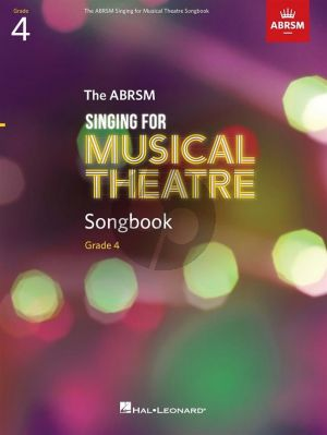 ABRSM Singing for Musical Theatre Songbook Grade 4