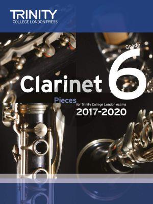 Clarinet Exam Pieces 2017 - 2020 Grade 6 (Score and Part)