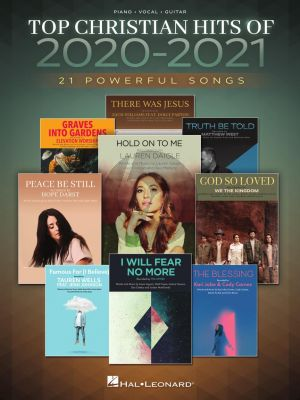 Top Christian Hits of 2020-2021 Piano-Vocal-Guitar