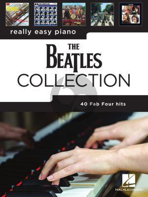Beatles Really Easy Piano 40 Beatles Hits