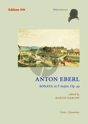Eberl Sonata F-major Op. 49 Violin and Piano (edited by Martin Harlow)