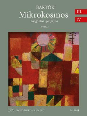 Bartok Mikrokosmos Vol. 3 and 4 BB 105 for Piano (edited by Yusuke Nakahara)