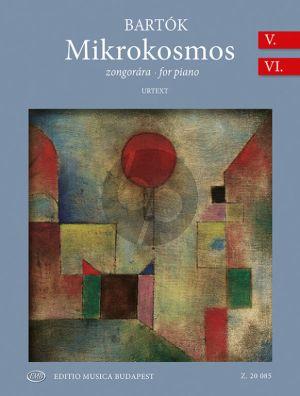 Bartok Mikrokosmos Vol. 5 and 6 BB 105 for Piano (edited by Yusuke Nakahara)