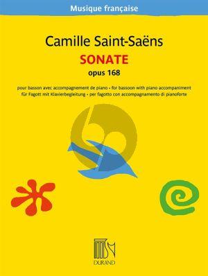 Saint-Saens Sonate Op. 168 Bassoon and Piano