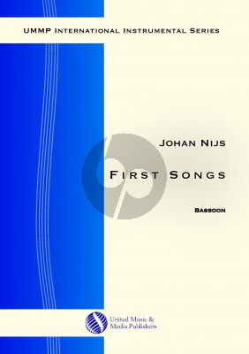 Nijs First Songs for Bassoon solo