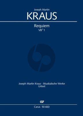 Kraus Requiem VB 1 Soli-Chor-Orchester (Partitur) (Wolfram Enslin)