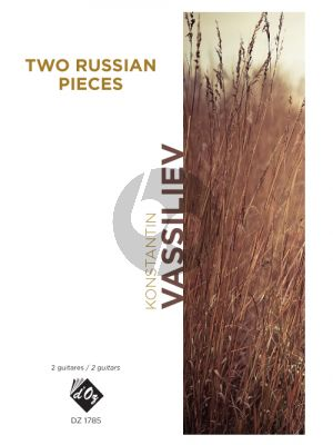 Vassiliev 2 Russian Pieces for 2 Guitars