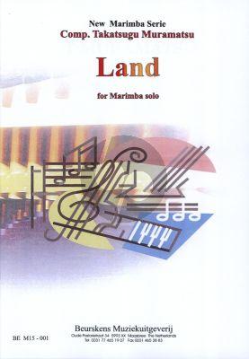 Muramatsu Land for Marimba Solo (Advanced)