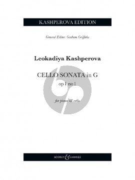 Kashperova Sonata No. 1 G-major Cello and Piano
