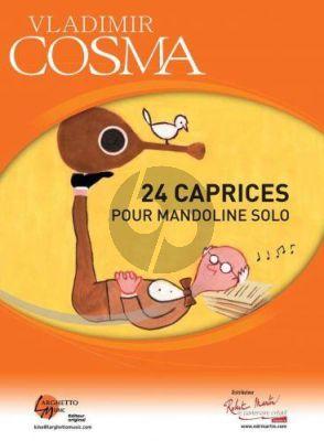 Cosma 24 Caprices pour Mandoline Solo
